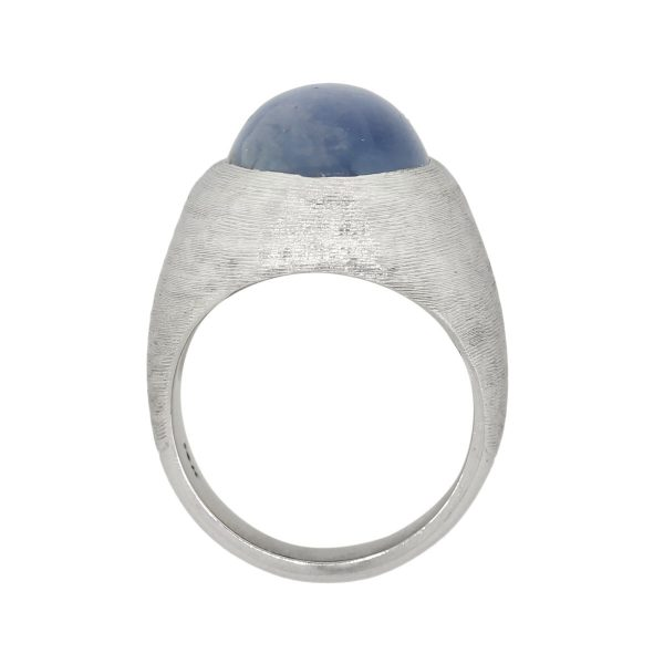 stat sapphire mens ring