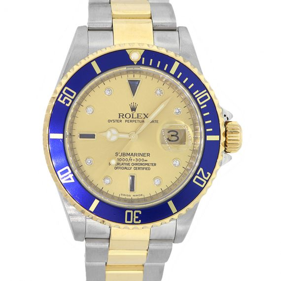 two toned submariner for women