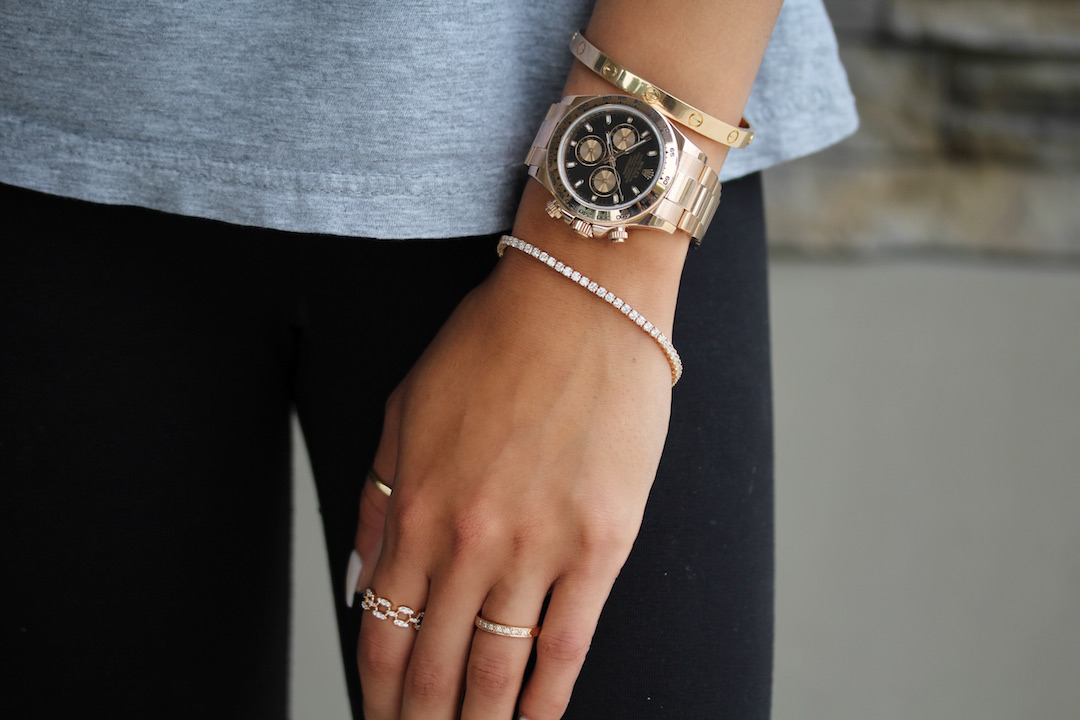 why women wear mens watches