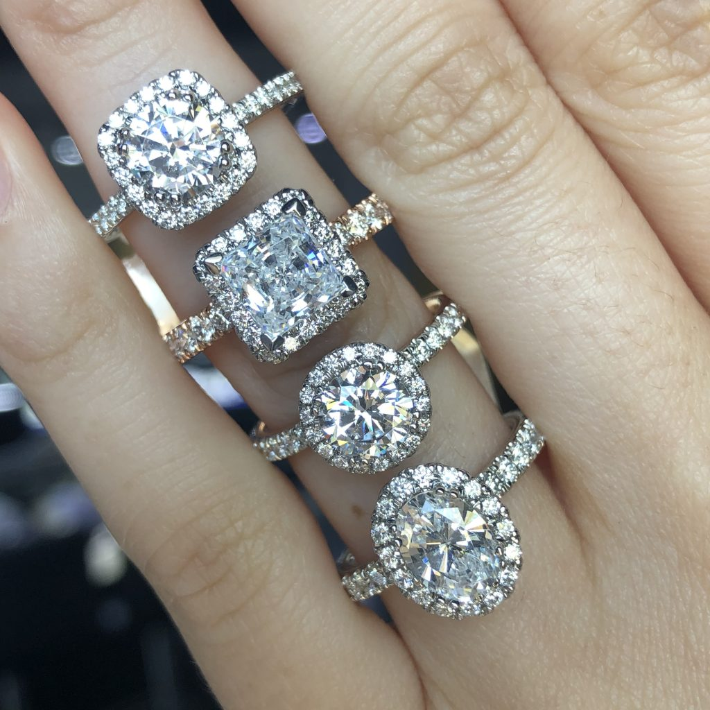 halo ring stack