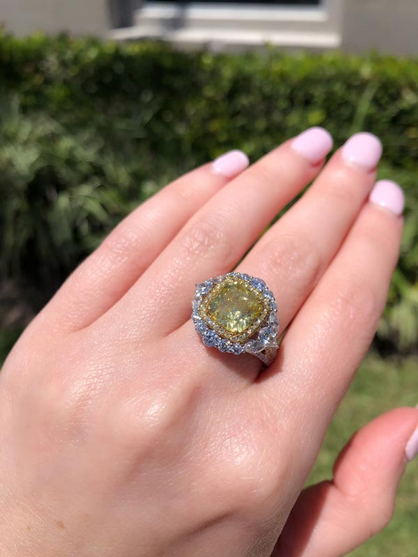 where can I buy a fancy yellow diamond engagement ring