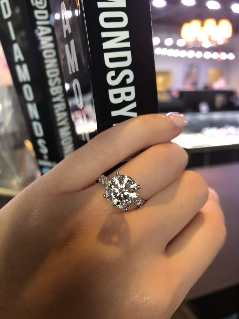 diamond jewelry and engagement ring