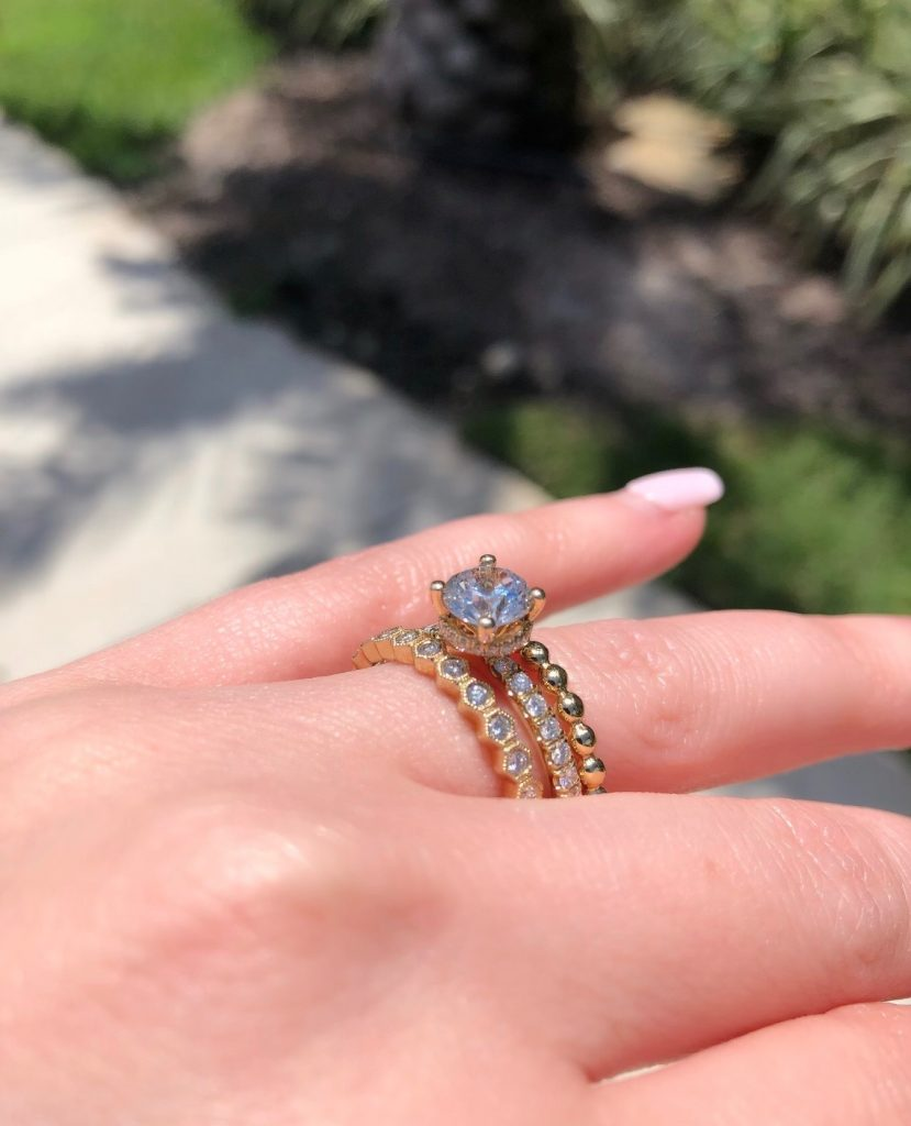 engagement ring stack
