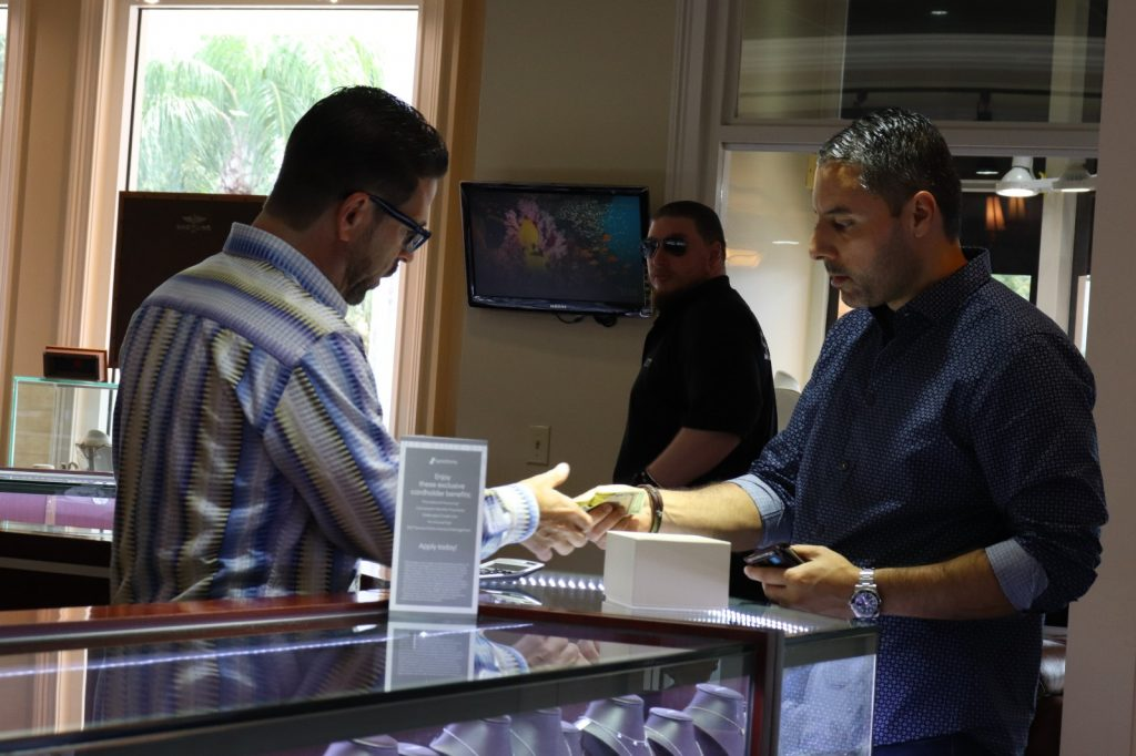 mens watches shopping in boca