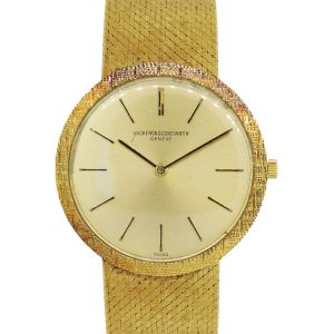 Vacheron Constantin Champagne Dial 18k Yellow Gold Gents Watch