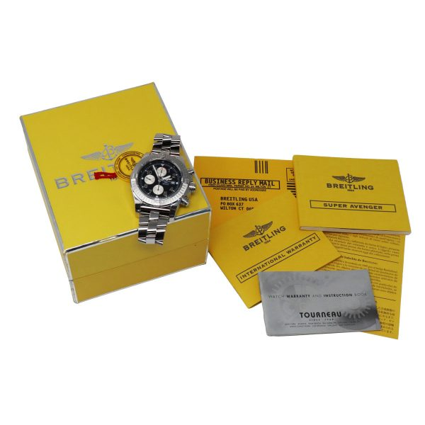 breitling box watch papers