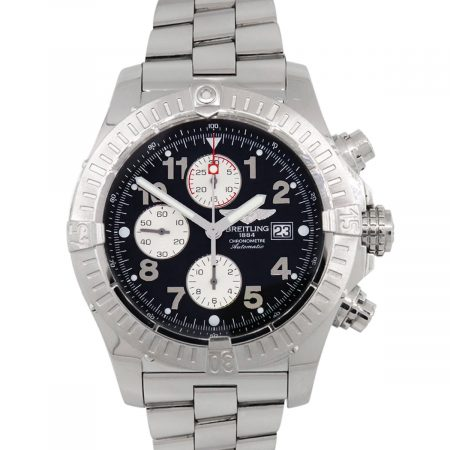 Breitling A1337011/B682 Super Avenger Chronograph Stainless Steel Watch