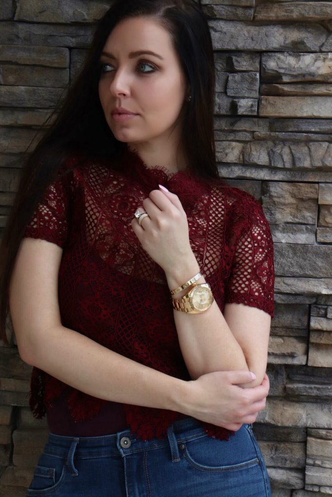 bracelet and watch combo with Cartier love bracelet and Rolex