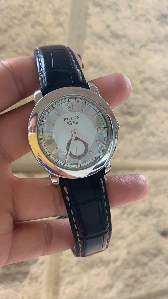 rolex cellini held up