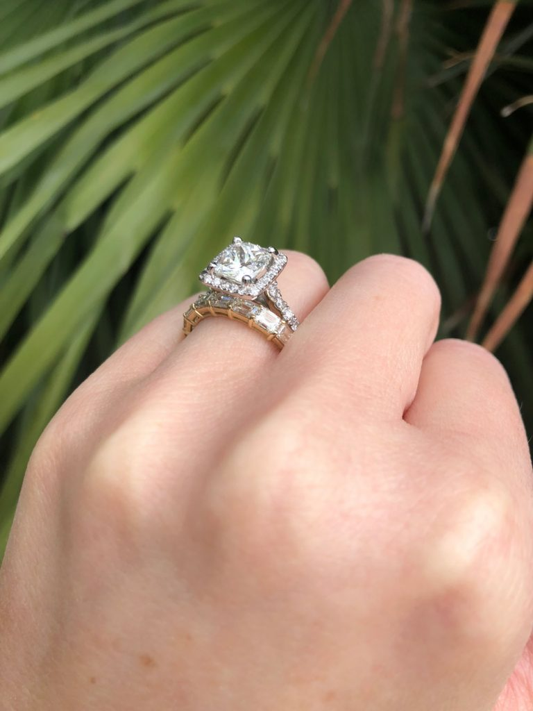 What is the difference between a wedding band and an eternity ring