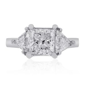 14k GIA Certified Diamond Engagement Ring