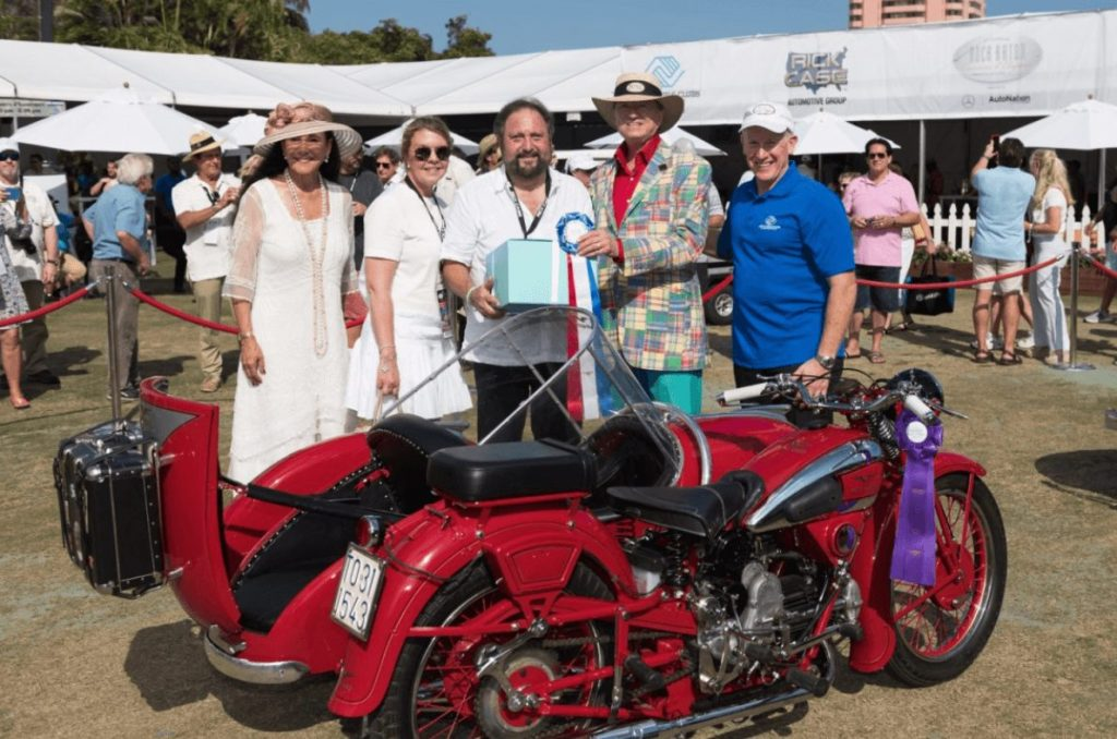 Leo schiegel collection of motorcycles