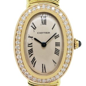 Cartier Ladies Baignore Watch