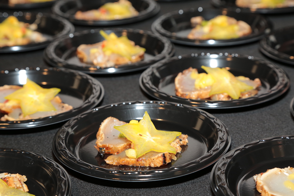 gourmet food at the boca concours