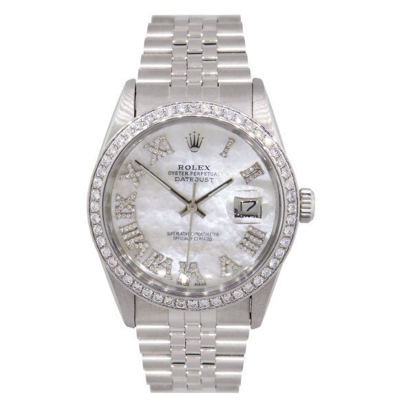 mother of peral diamond dial