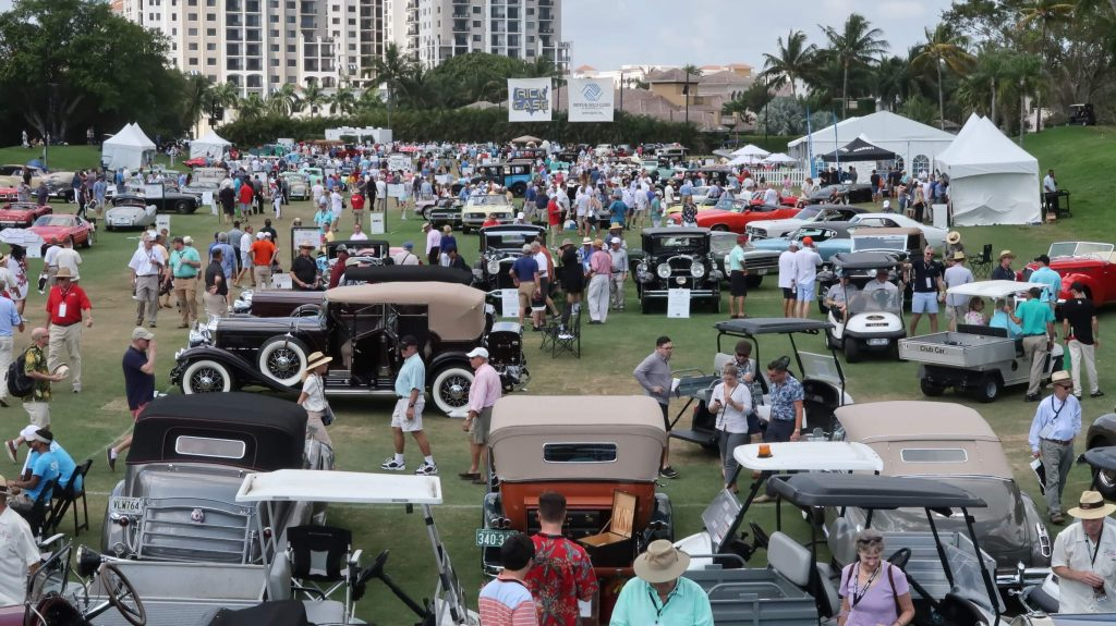 This years boca concours d'elegance