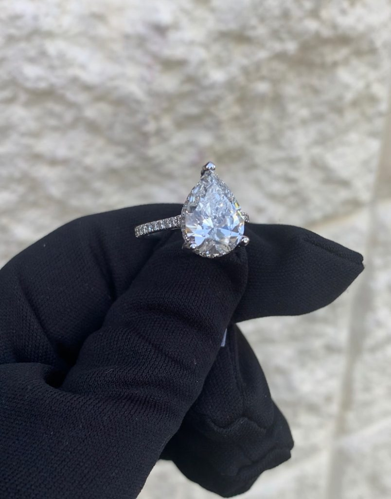 most popular engagement rings 2019