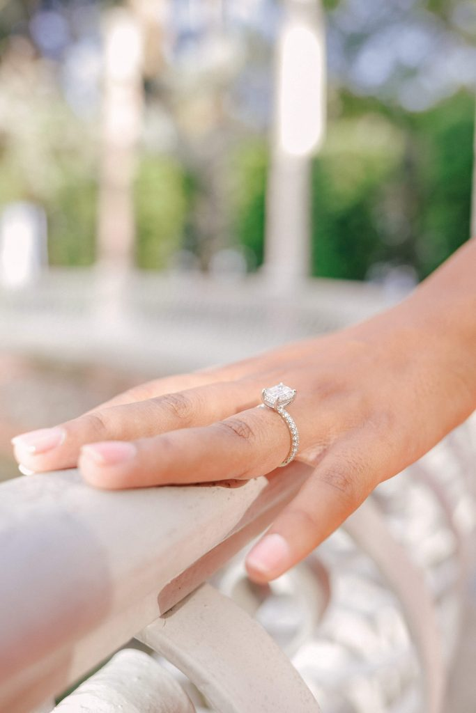 history of solitaire engagement ring