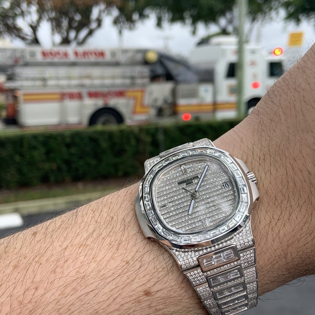 patek philippe iced out