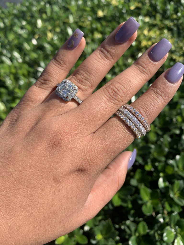 unique engagement ring cuts and settings
