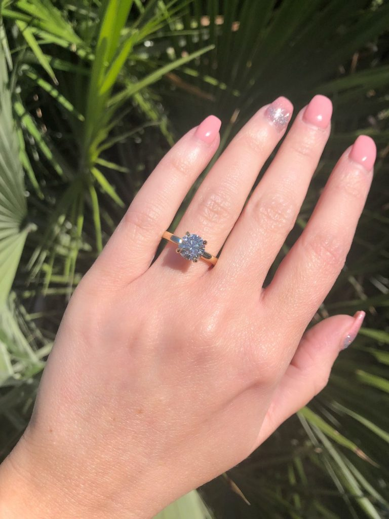 solitaire engagement ring guide