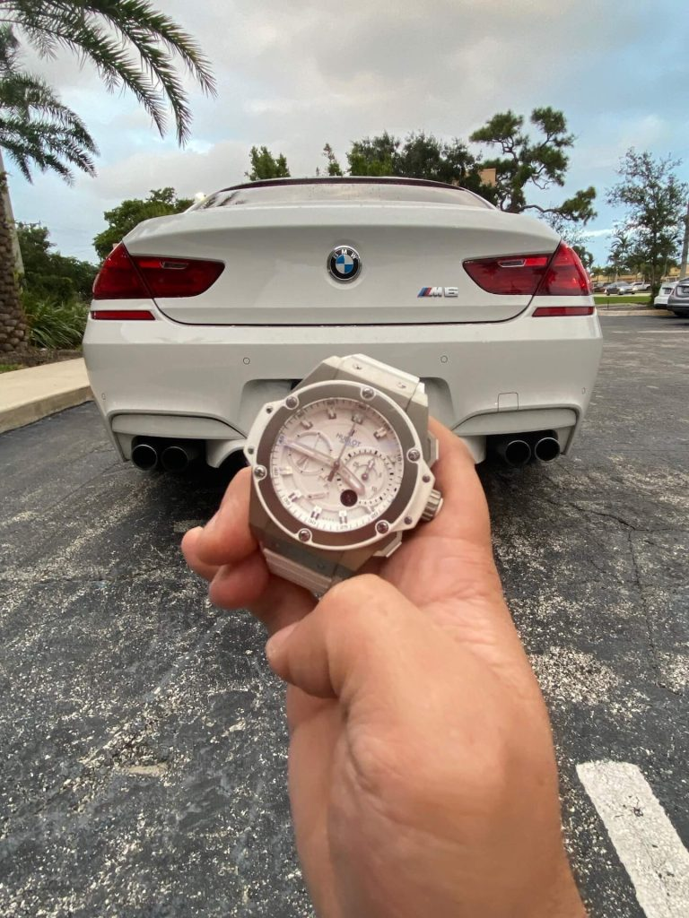 best car and watch combo