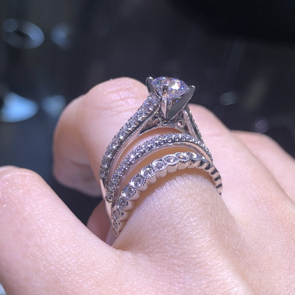 Are solitaire engagement rings boring?