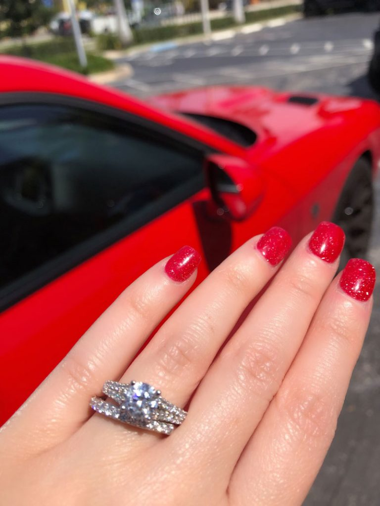 solitaire engagement ring price
