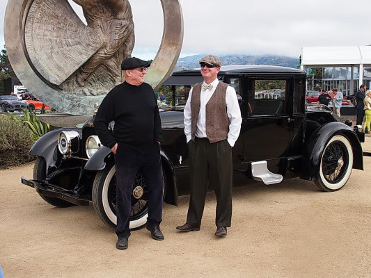 acd musuems duesenberg model A at this years Boca Concours