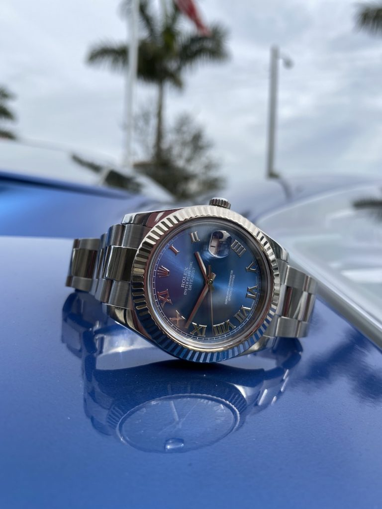 rolex and supercar collaboration