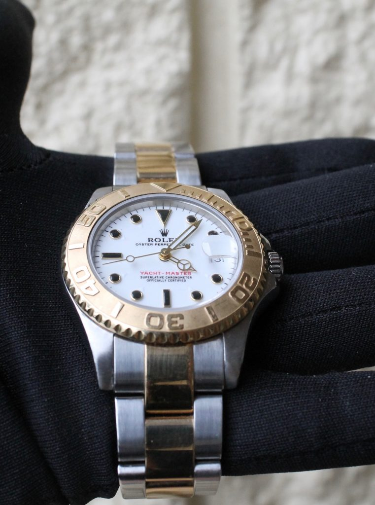 pre owned rolexes yacht master rolesor