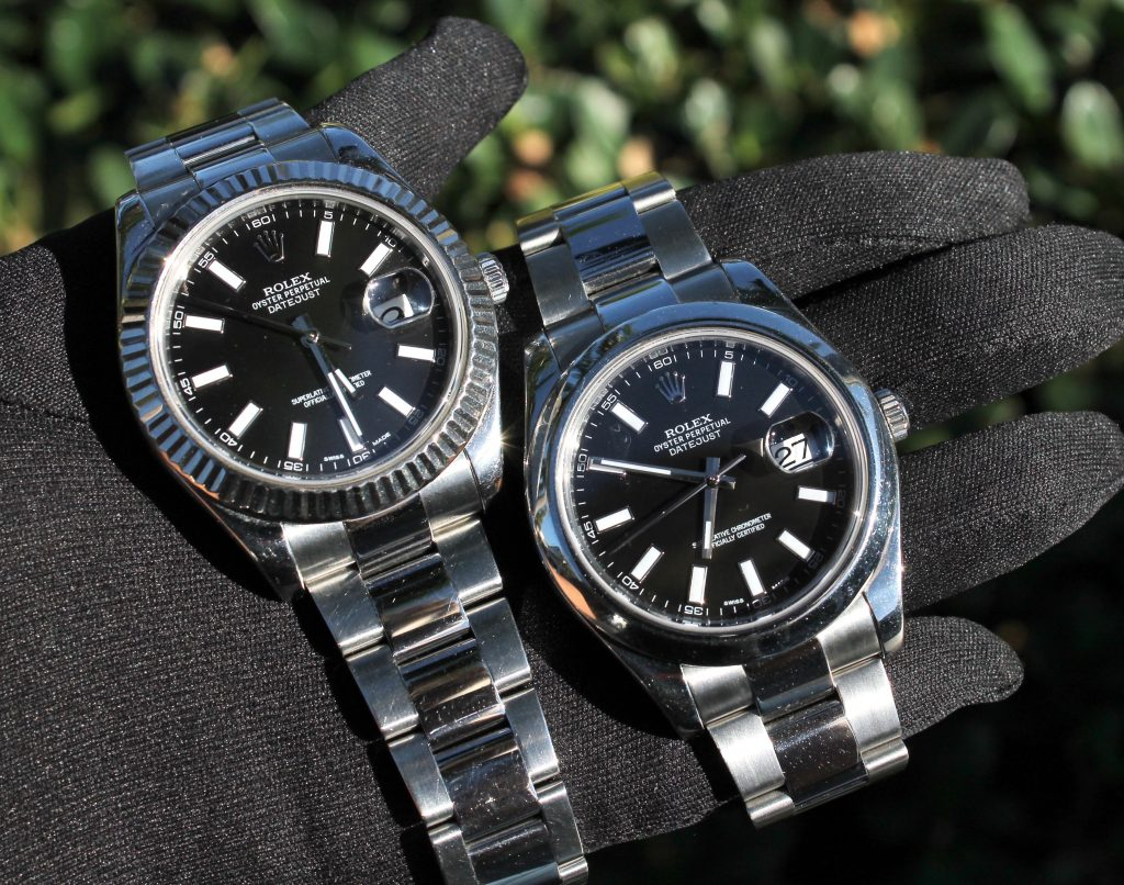 comparing which rolex to buy between datejust watches