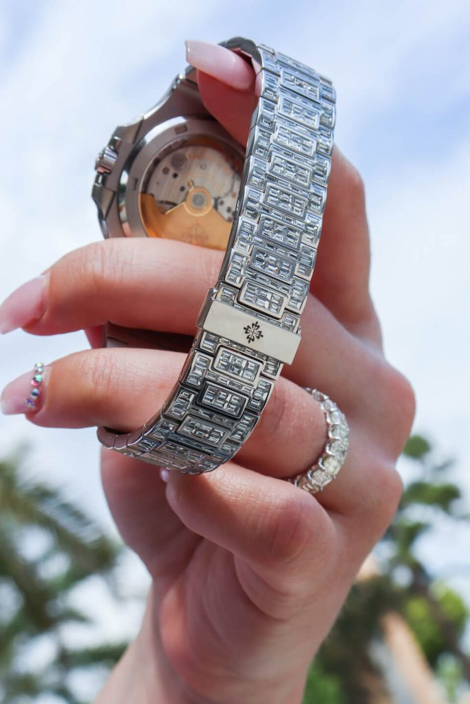 why are baguette diamond the most popular for bust down watches