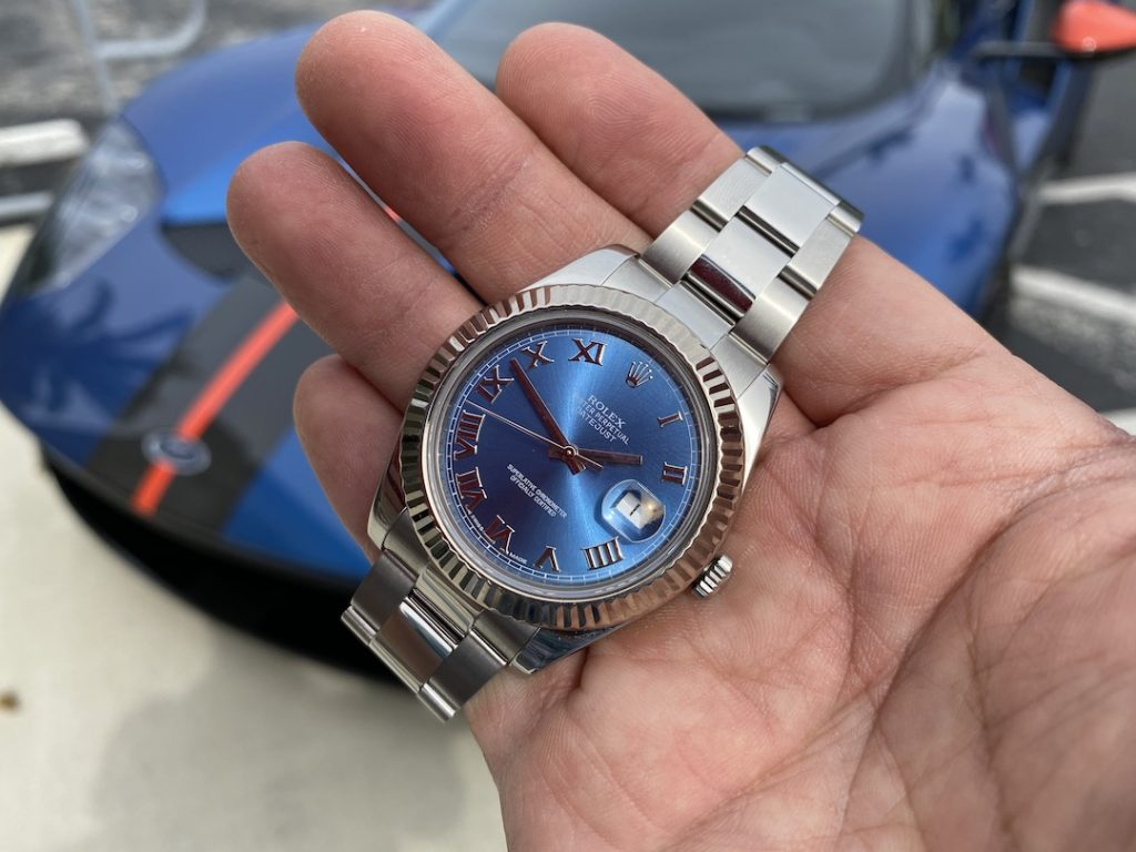 rolex and ford