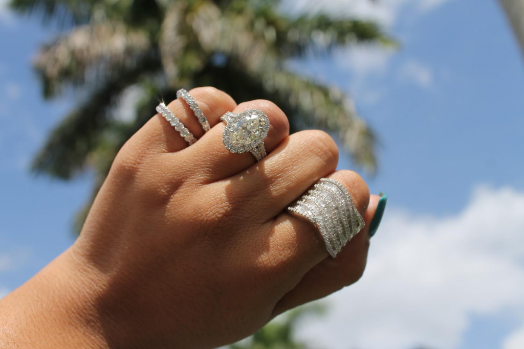rings with diamonds