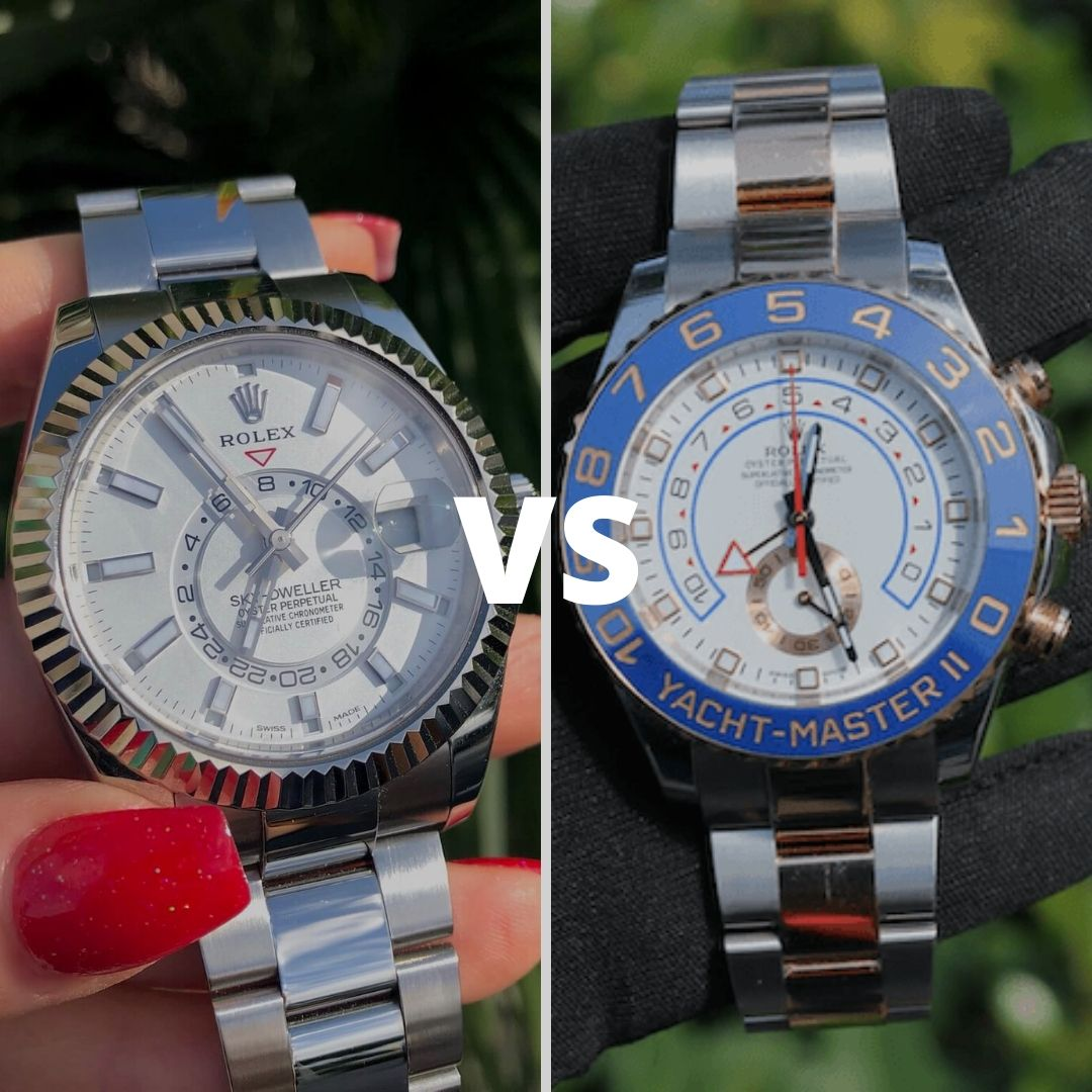 yachtmaster 2 vs skydweller