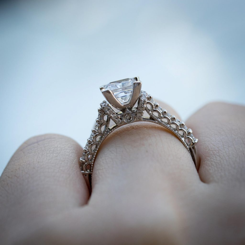 diamonds by raymond lee engagement rings for sale