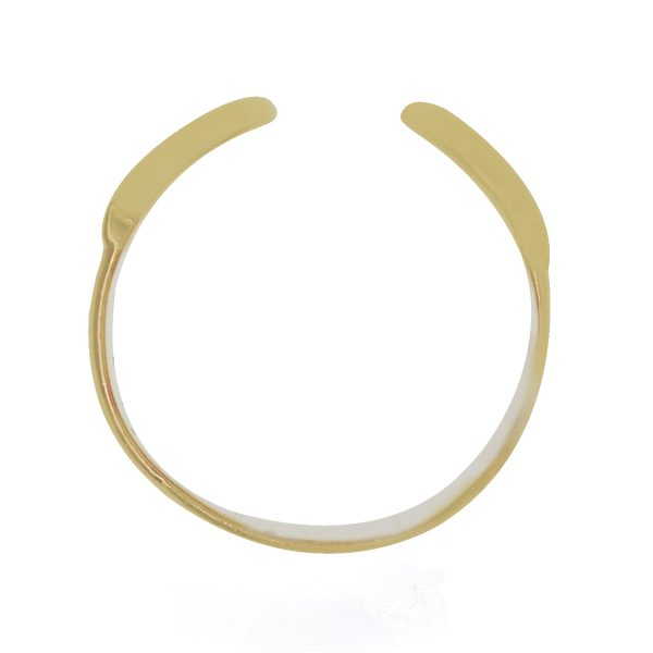 Cartier tri color gold ring