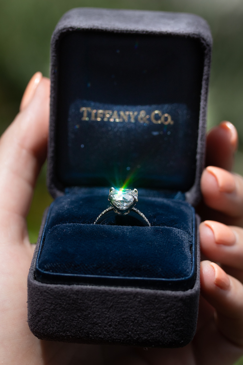 pre-owned Tiffany engagement rings Boca Raton