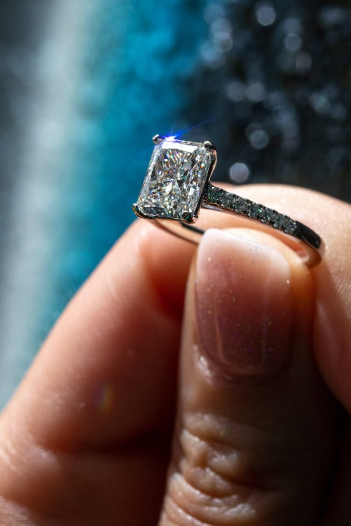 best solitaire engagement ring