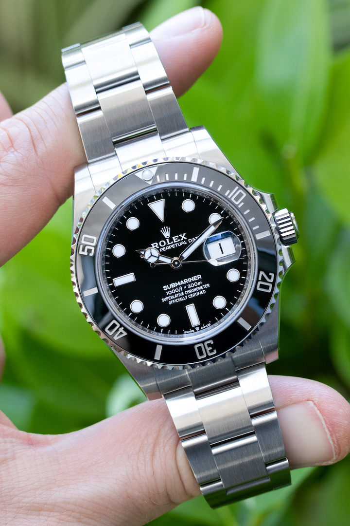 review new Rolex Submariner