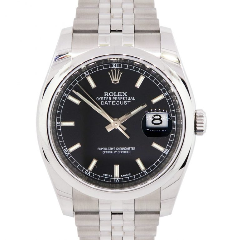 Rolex 116200 Black Dial Stainless Steel Watch
