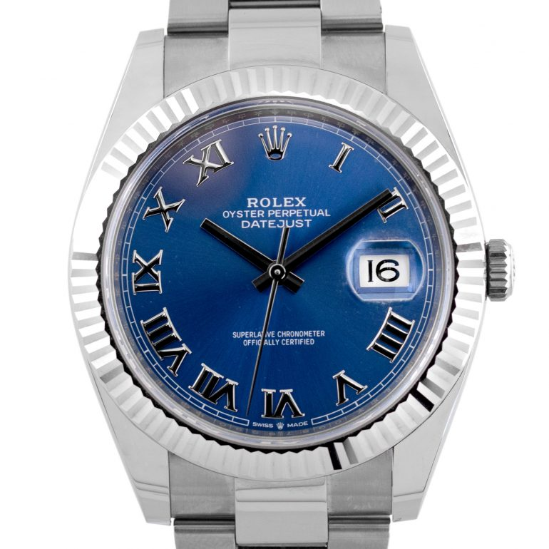 Rolex 126334 41 Blue Dial Stainless Steel Watch