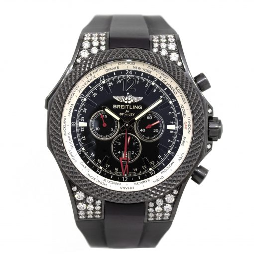 Breitling for Bentley midnight carbon GMT special edition