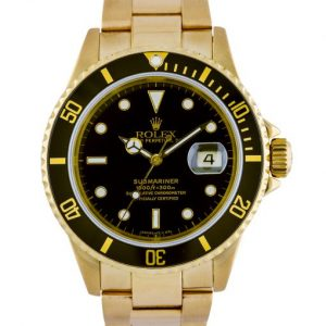 yellow gold submariner review