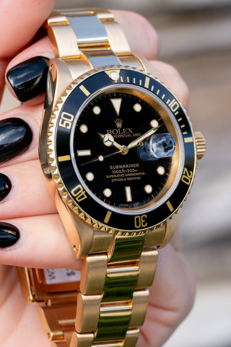 Rolex Submariner 16618LN Review
