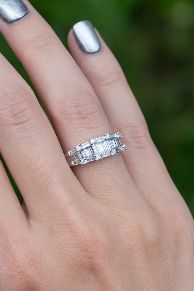 are baguette diamond bands good?