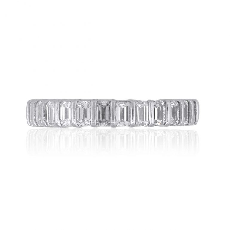 baguettes eternity ring