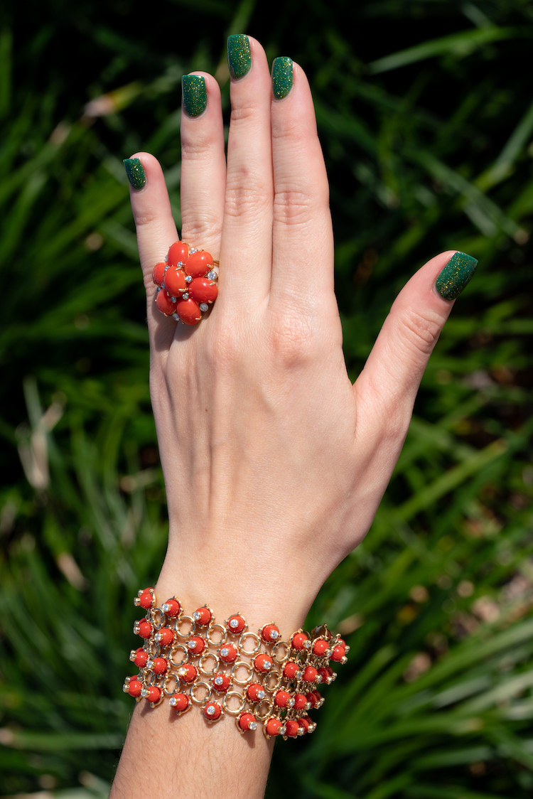 red coral jewelry Boca Raton
