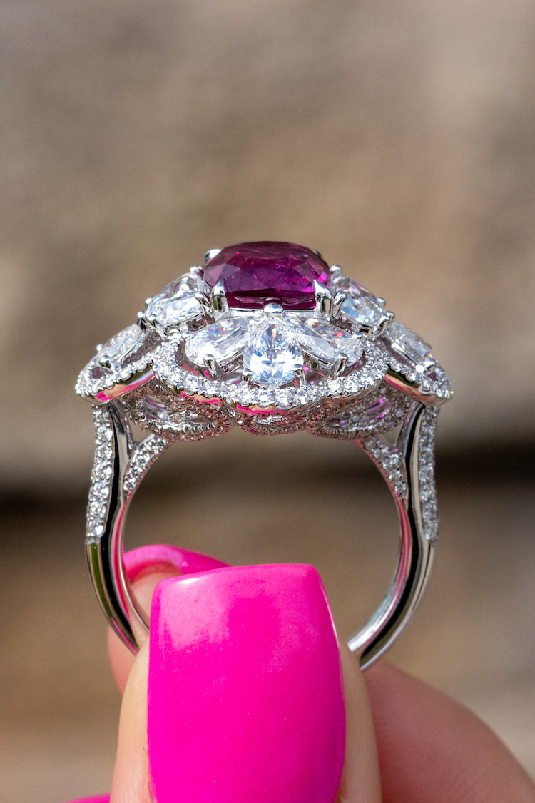 where to buy pink sapphires in Boca Raton